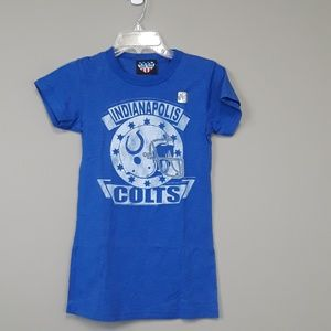 Junk Food Indianapolis Colts NFL football tee